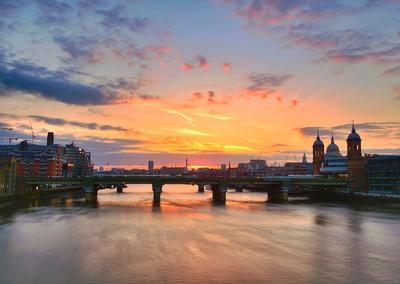 Sunset from London Bridge