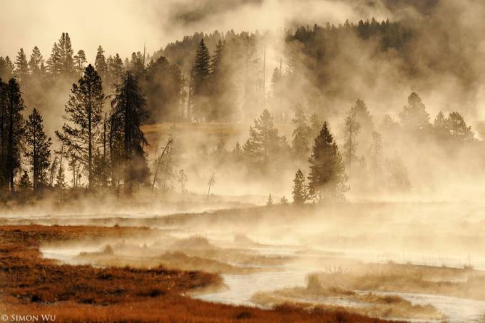 Misty Morning by simonwu - Mist And Drizzle Photo Contest