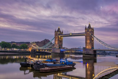 Tranquility at Tower Bridge