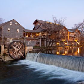 On a trip to Gatlinburg and Pigeon Forge, Tennessee, I was able to capture the Mill at the perfect time.