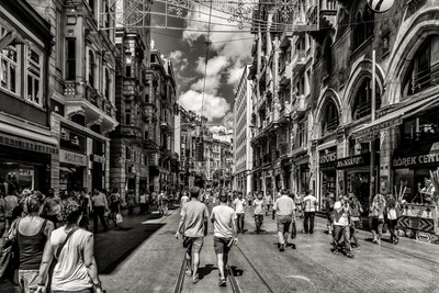 Busy Street in Istanbul