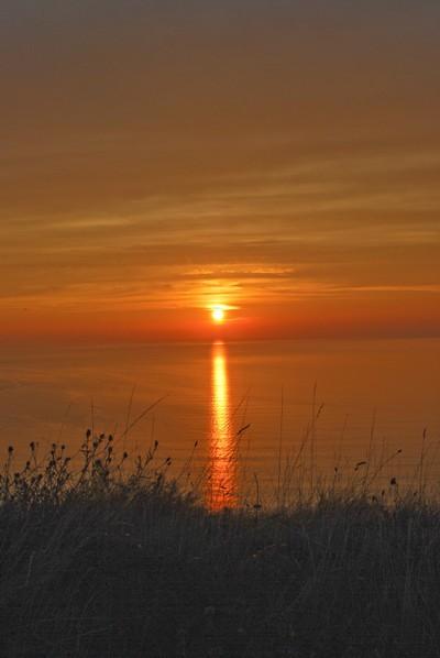 Sunset over Cardigan Bay 2