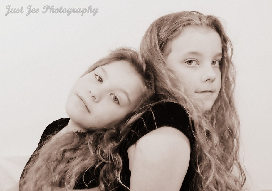My twins make the perfect subjects to shoot.