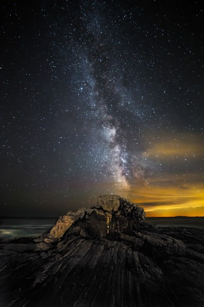 Pemaquid Milky Way