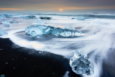 Jokulsarlon Ice Beach Iceland