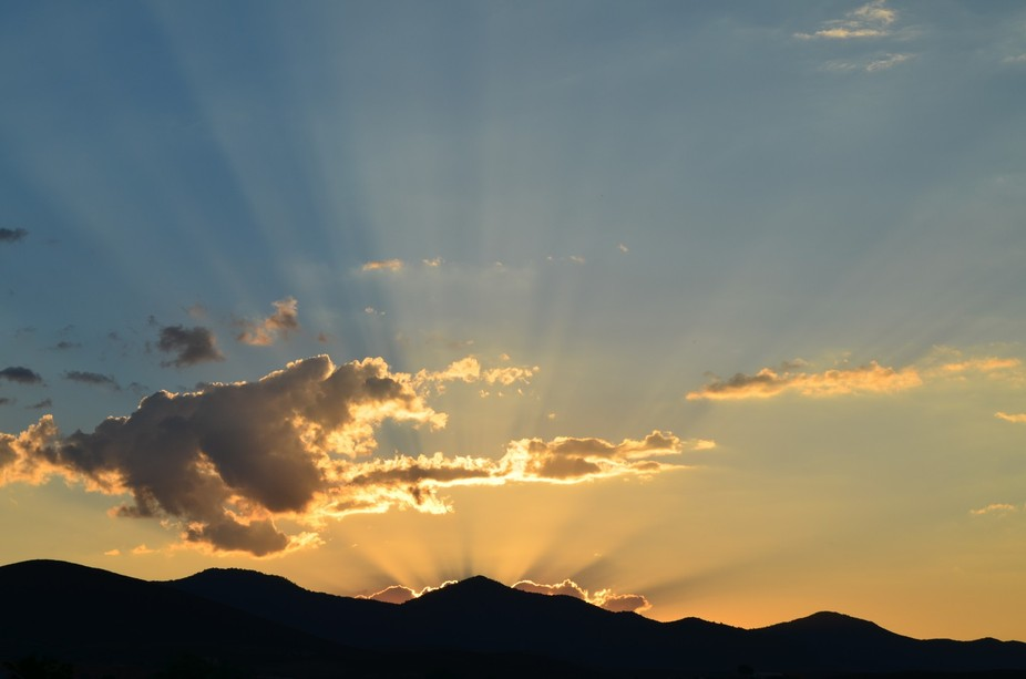 I took this picture from my front yard. 1 of MANY of the AZ sunsets and sunrises. I seen the clou...