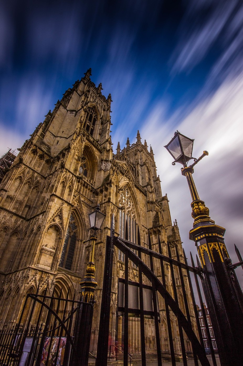 Wind-Swept Minster. by michaelatkinson_5804 - Tall Structures Photo Contest