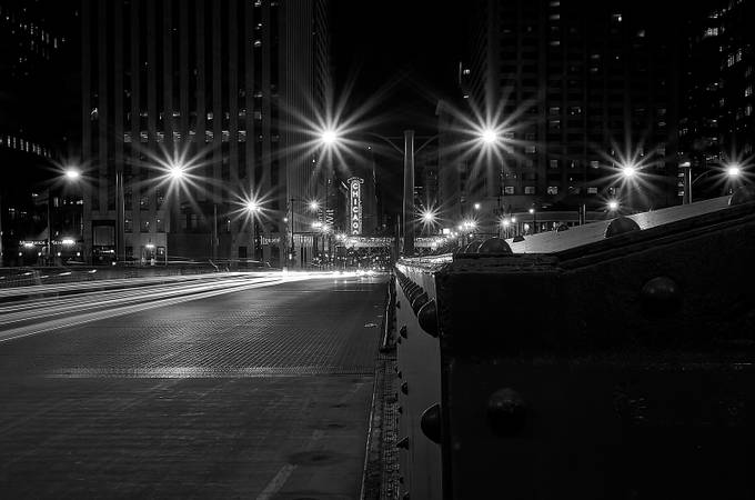 Chicago-BW by David-B - Depth In Black And White Photo Contest