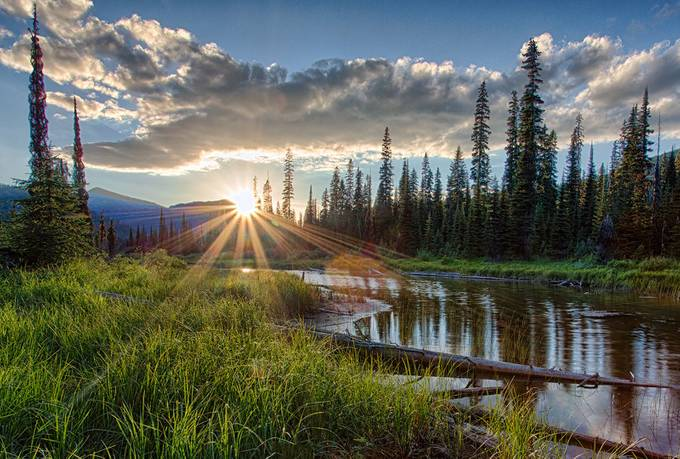 Boundary Lake Sunset by kootenay_nature_photos - Meadows Photo Contest