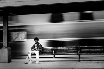 #Waiting for the Train
