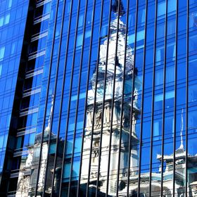 Philly City Hall Reflection 2015