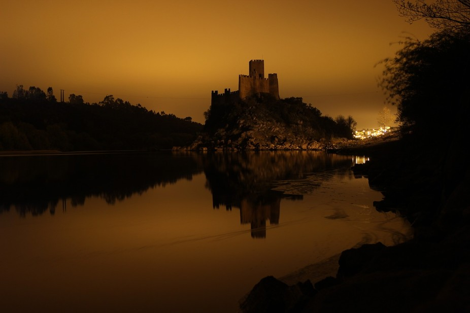 I was camping with friends near this amazing castle and took my camera . There were some fine hou...