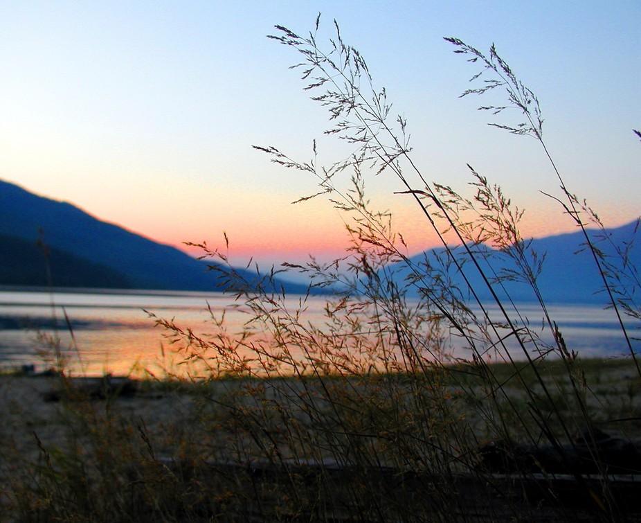 Arrow Lake, Nakusp, B.C.  Spectacular sunsets