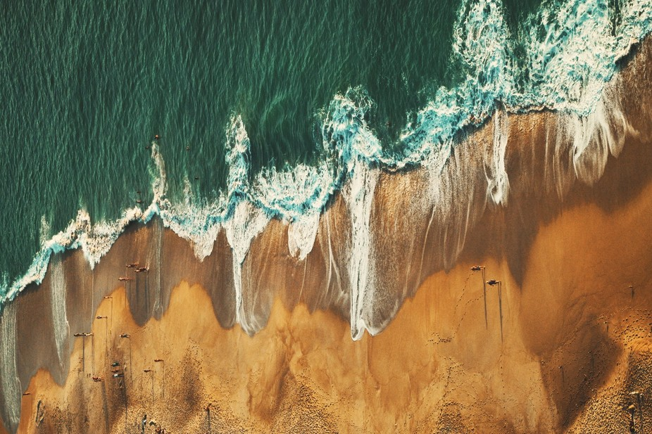 Impressive landscape from one of the most beautiful Portugal Atlantic coast villages  - Nazare ro...
