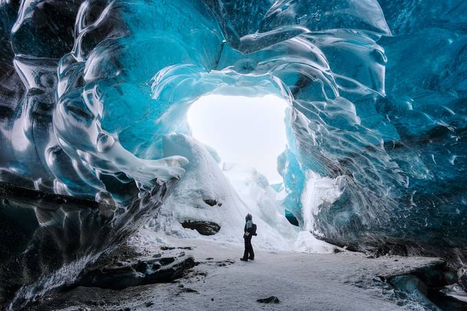 Vatnajokull Glacier Ice Cave by shanewheelphoto - Adventure Bound Photo Contest