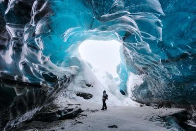 Vatnajokull Glacier Ice Cave