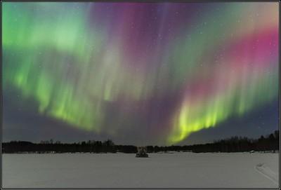 Northern Lights, Nellim...