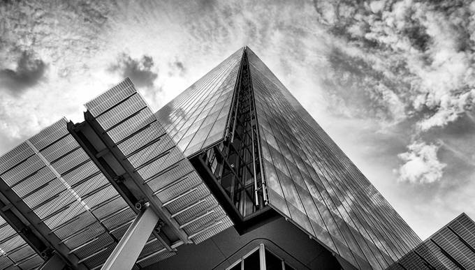 The Shard by racheldulson - Black And White Architecture Photo Contest