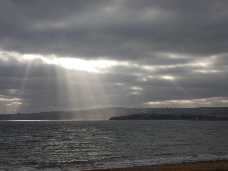 God\'s fingers at Exmouth.