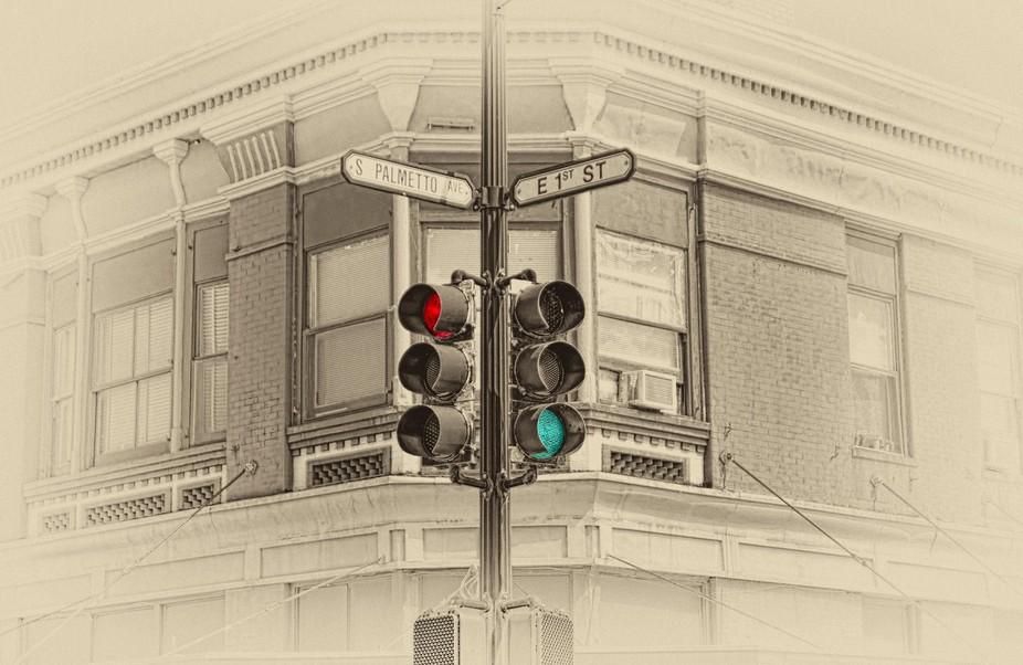 Sandord, Central Florida traffic light