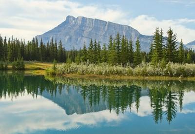 Cascade Ponds Reflection