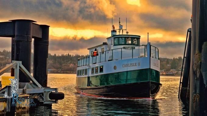 The Carlisle II Foot Ferry