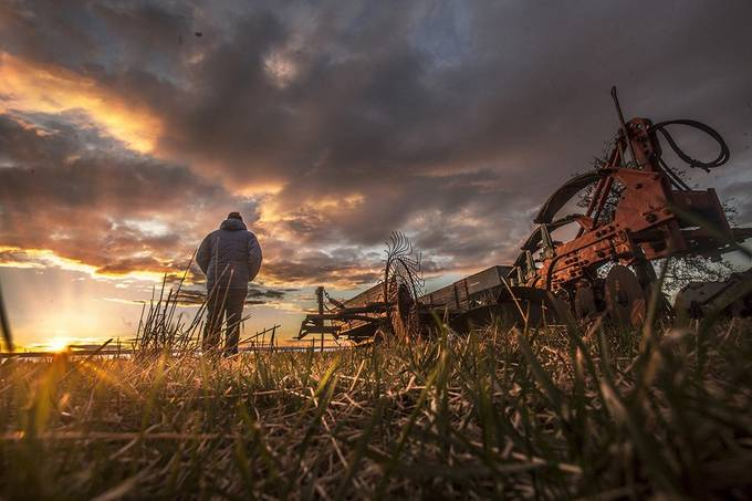 Top of the morning  by RobinHM - Farming Photo Contest