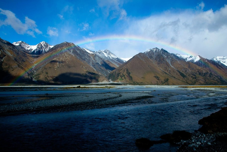 Taken during a 4 day trip into New Zealand's South Island remote and beautiful Godley Va...