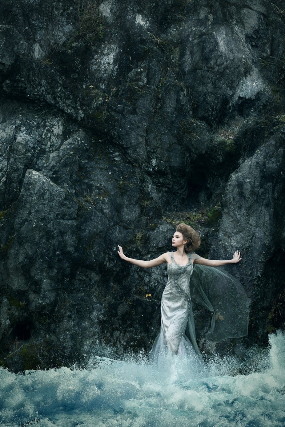 Queen of Water by alegrita - Celebrating Fashion Photo Contest