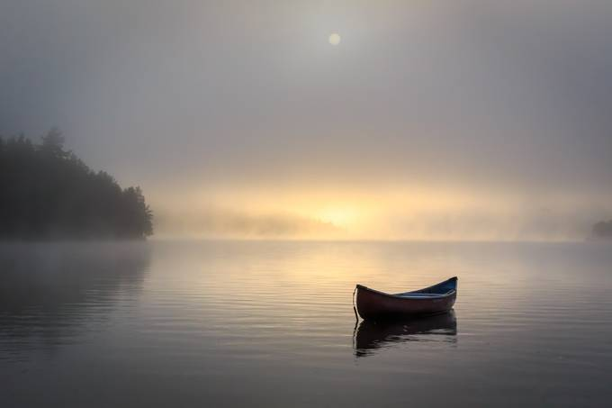 Morning mist by bminor - Ships And Boats Photo Contest
