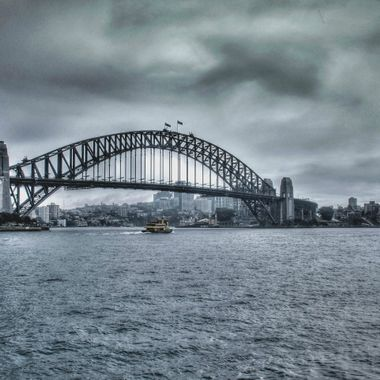 Approaching Storm on Sydney Harbour