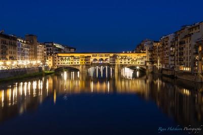 Blue Ponte Vecchio