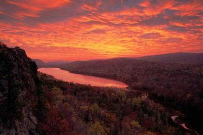 Lake of Clouds - Fall Sunrise