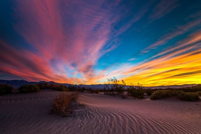 Death Valley Sunrise IV by markcote - Photos With Filters Photo Contest