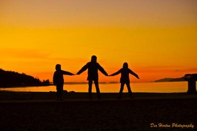 Sunset Family