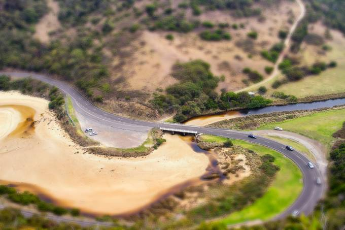 St George River by bevlea - TiltShift Effect Photo Contest