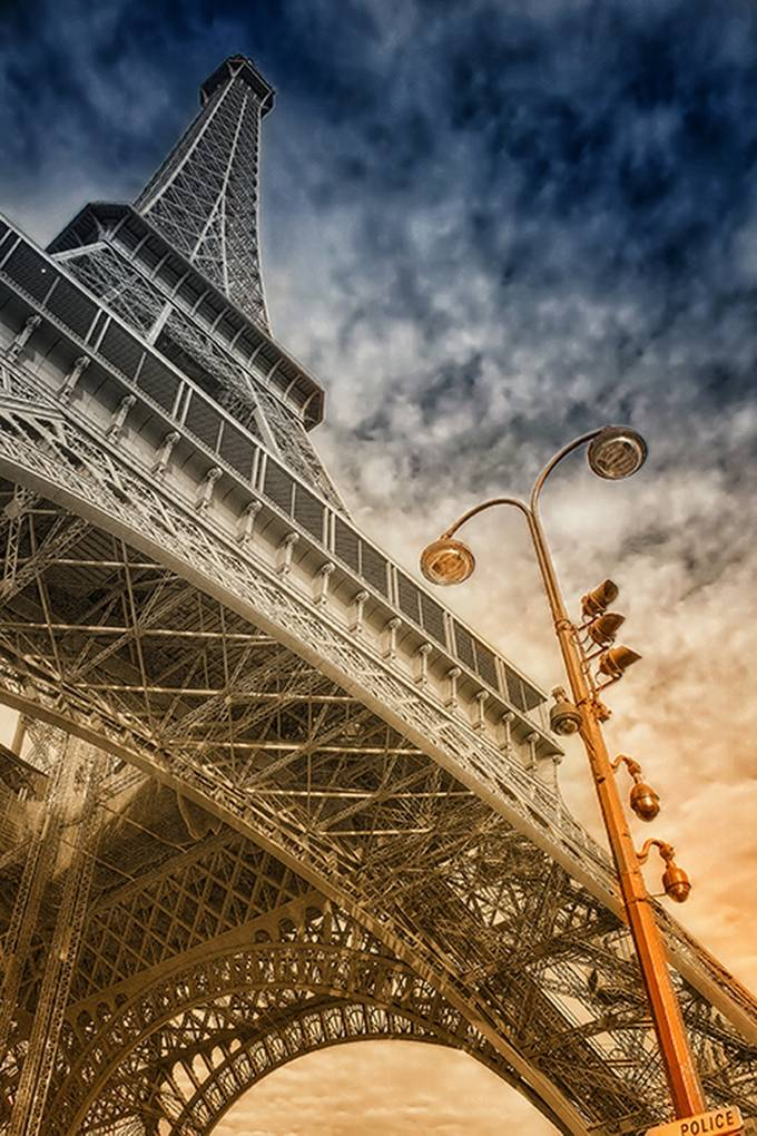 oh eiffel by amylaportgant - Photos With Filters Photo Contest