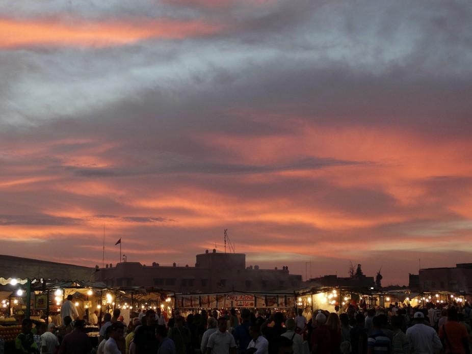 market of Maracesh