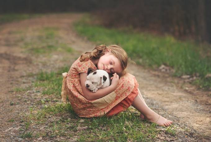 nap by Andreamartinphoto - Children and Animals Photo Contest