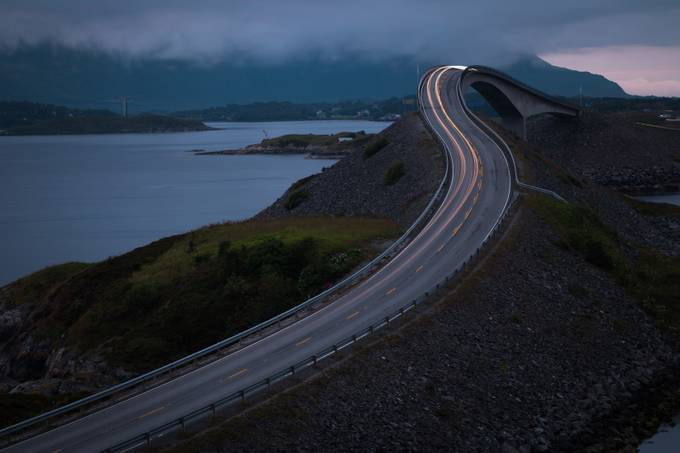 atlantic ocean road by hasmonaut