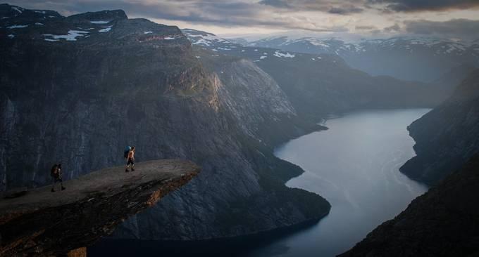 trolltunga by hasmonaut - Standing At The Edge Photo Contest