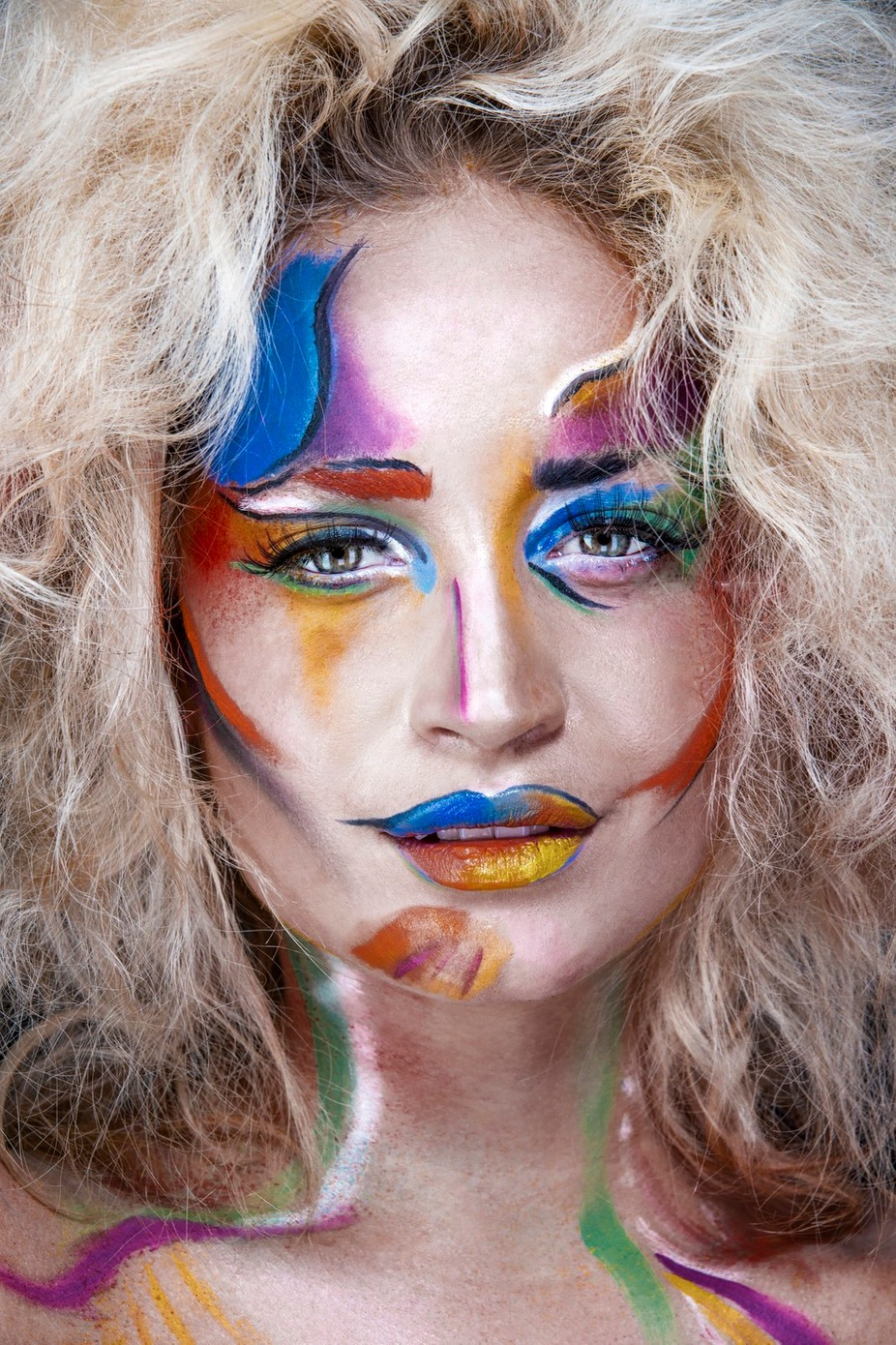 Painted Goddess by jrigbyphotography - Paint And Makeup Photo Contest