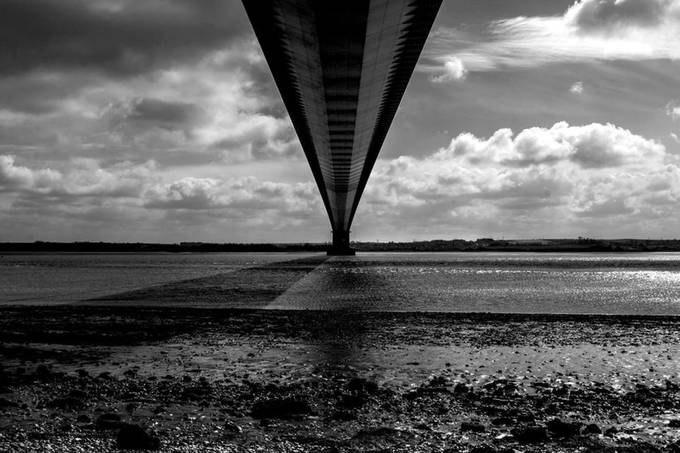 The Bridge by chriswithington - Depth In Black And White Photo Contest