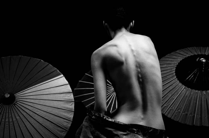 Japanese Mood by Helen_Mountaniol - Tasteful Boudoir Photo Contest