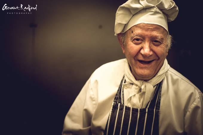 The Chef by GeraintRadford - The Face Of A Man Photo Contest