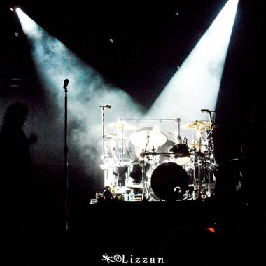 Ann Wilson's Silhouette Jason Bonham's Drums