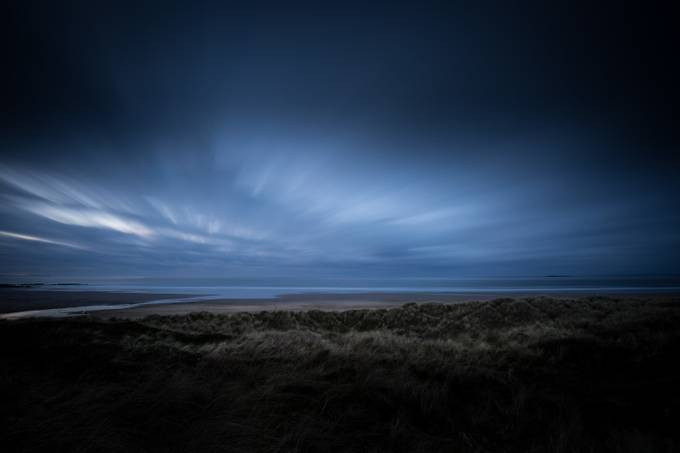 Beach at Bamburgh Castle by DrawsWithLight - Photos With Filters Photo Contest