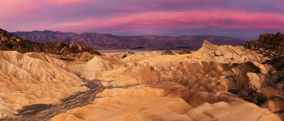 Zabriskie Point is probably the most iconic photographic destination in Death Valley National Par...