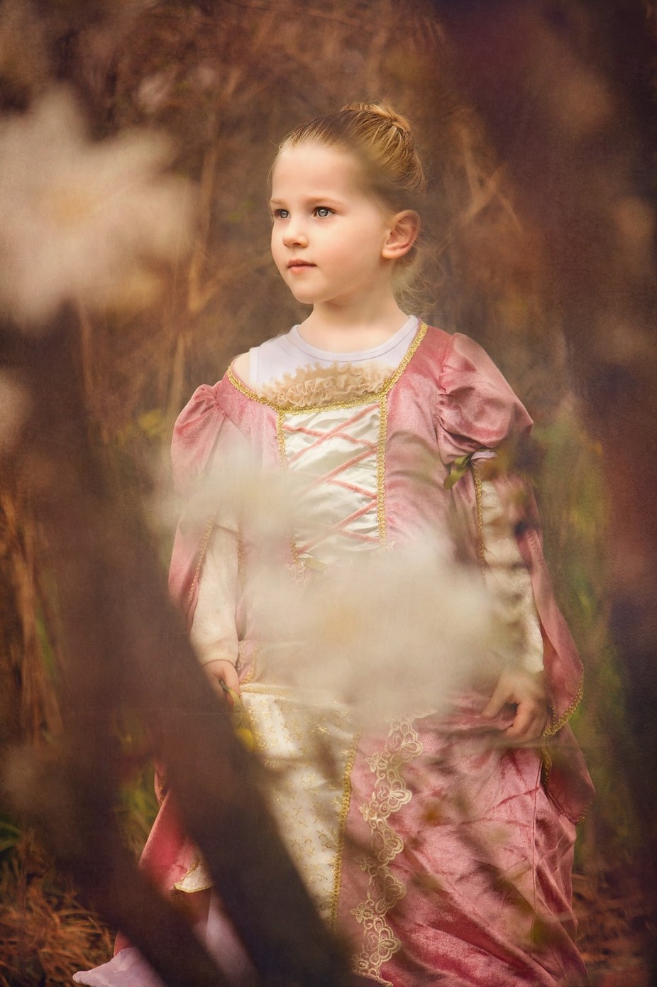 Princess in the Woods by jesbrandon - Children In Nature Photo Contest