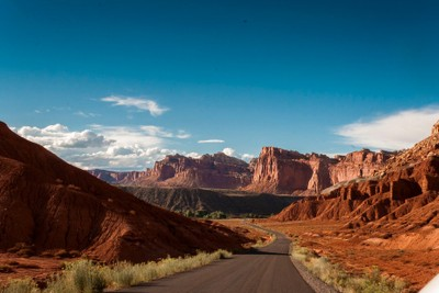 'Road to Nowhere' Capital Reef, UT